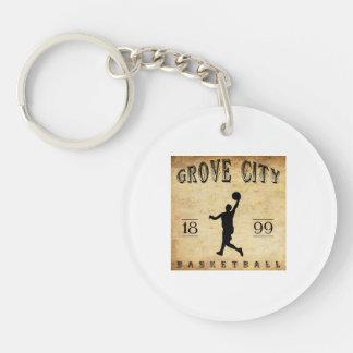1899 Grove City Pennsylvania Basketball Keychain