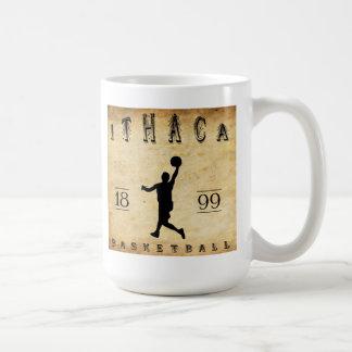 1899 Ithaca New York Basketball Classic White Coffee Mug