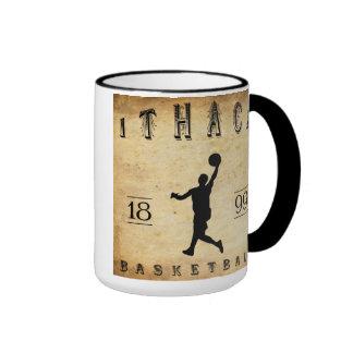 1899 Ithaca New York Basketball Ringer Coffee Mug