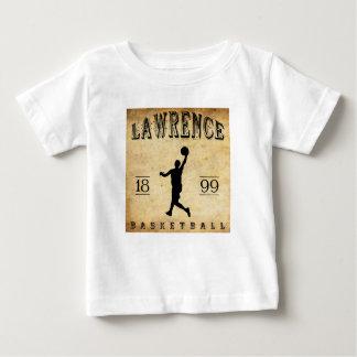 1899 Lawrence Kansas Basketball Baby T-Shirt