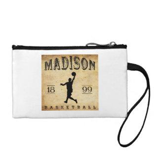 1899 Madison Wisconsin Basketball Coin Purse