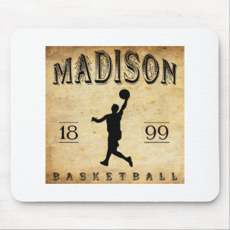 1899 Madison Wisconsin Basketball Mouse Pad