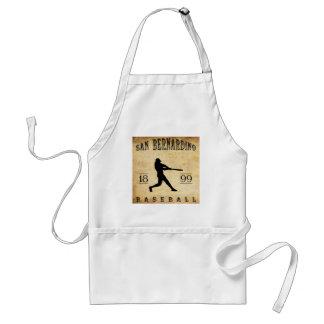1899 San Bernardino California Baseball Adult Apron