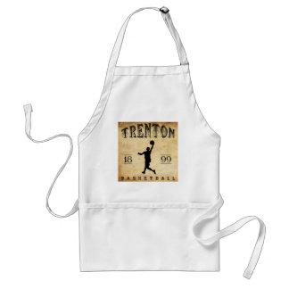 1899 Trenton New Jersey Basketball Adult Apron