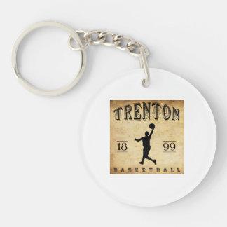1899 Trenton New Jersey Basketball Keychains