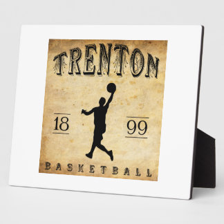 1899 Trenton New Jersey Basketball Photo Plaques