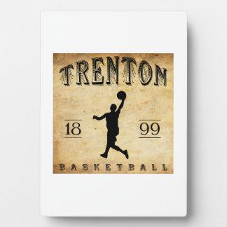 1899 Trenton New Jersey Basketball Plaques