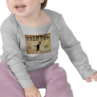 1899 Trenton New Jersey Basketball T-shirts