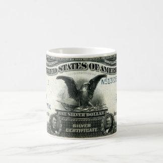 1899 un certificados de plata de los E.E.U.U. del Taza De Café