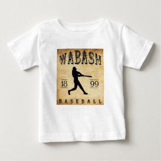 1899 Wabash Indiana Baseball Baby T-Shirt