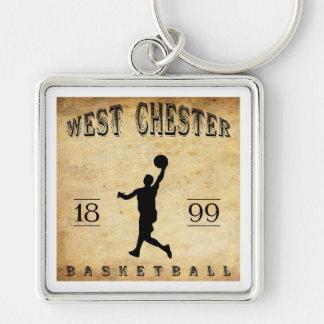 1899 West Chester Pennsylvania Basketball Key Chains