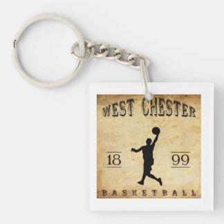 1899 West Chester Pennsylvania Basketball Keychain