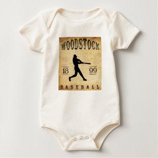 1899 Woodstock Ontario Canada Baseball Baby Bodysuit
