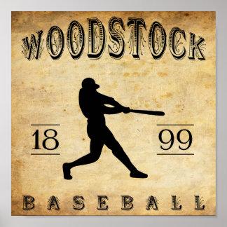 1899 Woodstock Ontario Canada Baseball Posters