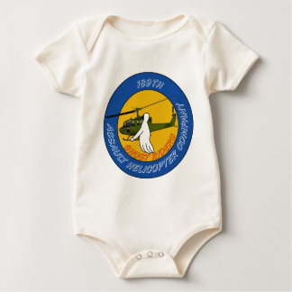189th Assault Helicopter Co - Ghost Riders Baby Bodysuit