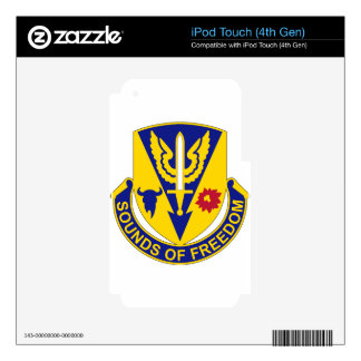 189th Aviation Regiment - Sounds Of Freedom Decals For iPod Touch 4G