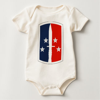 189th Infantry Brigade Baby Bodysuits