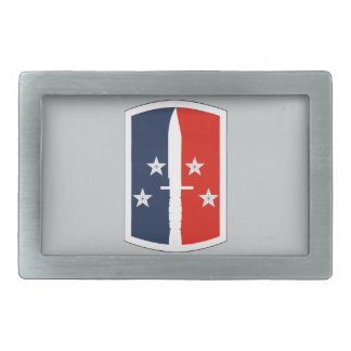 189th Infantry Brigade Rectangular Belt Buckles