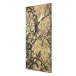 18.桃花小禽図, 若冲 Peach Blossoms & Small Birds, Jakuchū Stretched Canvas Prints