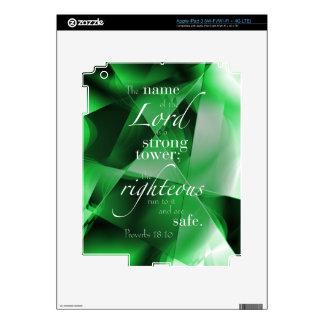18:10 de los proverbios pegatina skin para iPad 3