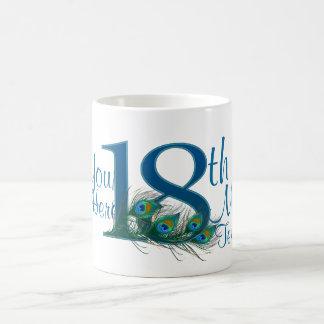 # 18 - 18th Wedding Anniversary or 18th Birthday Coffee Mug