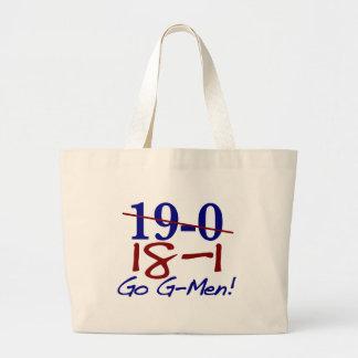 18-1 Go G-Men Large Tote Bag