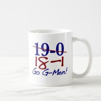 18-1 van los G-Hombres Tazas De Café
