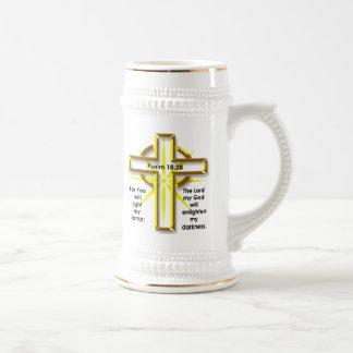 18:28 del salmo jarra de cerveza