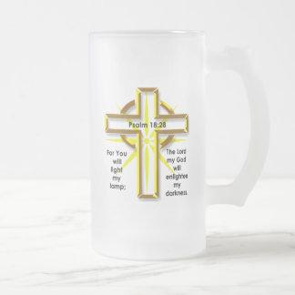 18:28 del salmo taza de cristal