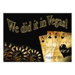 18:30 Gary & Katy Las Vegas Deluxe Wedding Card