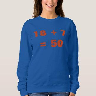 18 + 7 = 50 POLERAS