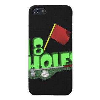 18 agujeros iPhone 5 carcasas