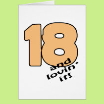 18 And Lovin' It! Card
