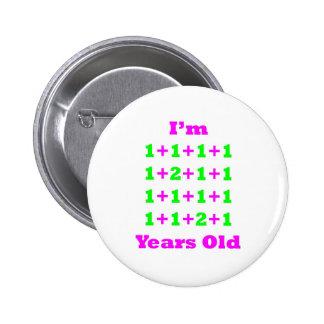 18 años de GR magenta Pin