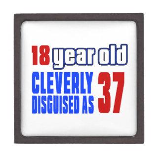 18 años disfrazados listo como 37 cajas de joyas de calidad