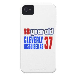 18 años disfrazados listo como 37 Case-Mate iPhone 4 fundas