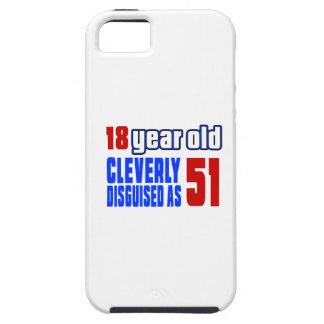 18 años disfrazados listo como 51 iPhone 5 carcasa