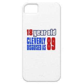 18 años disfrazados listo como 89 iPhone 5 funda