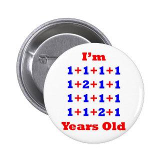 ¡18 años! pin