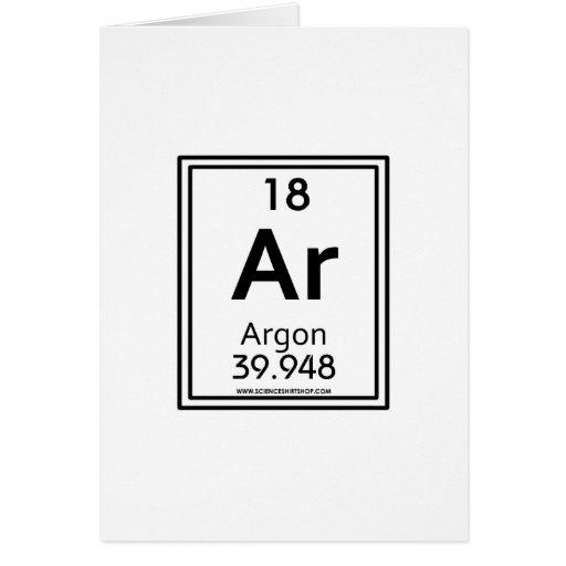 18 Argon Card