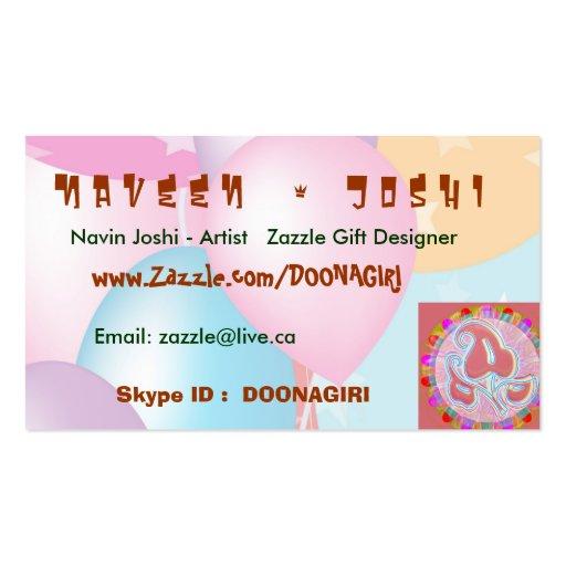 18 Artistic Business Cards : Zazzle