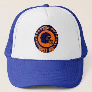 18 = BEST QB TRUCKER HAT