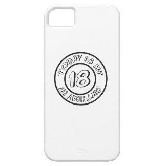 18 BIRTHDAY iPhone 5 Case-Mate CARCASAS