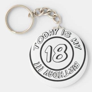 18 BIRTHDAY SCHLÜSSELBÄNDER