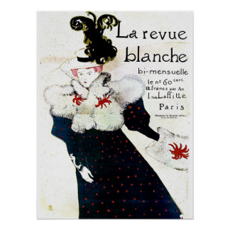 """18 by 24"""" Toulouse Lautrec magazine ad Poster"""