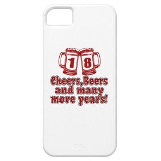18 Cheers Beers Birthday Designs iPhone SE/5/5s Case