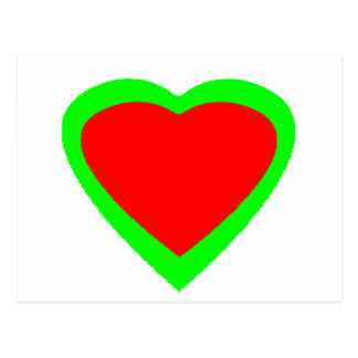 18 Color Hearts You Choose U Design Postcard