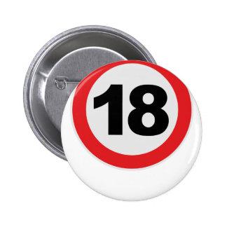 18. Cumpleaños Pin