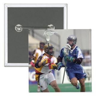 18 de agosto de 2001:  Shawn Nadelen #15 Baltimore Pin Cuadrada 5 Cm