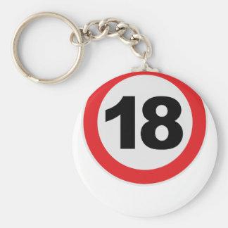 18 Geburtstag Schlüsselband